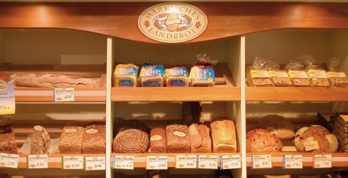 Leckeres Brot und frische Brötchen in Wannsee