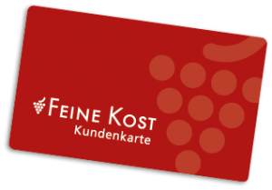 Ansicht der Feine-Kost-Kundenkarte