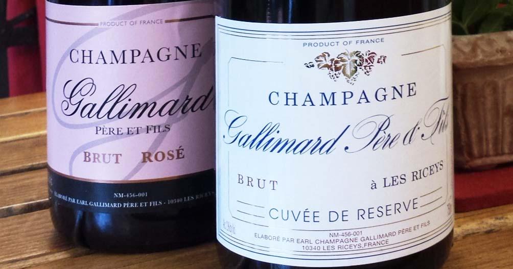 champagne gallimard brut