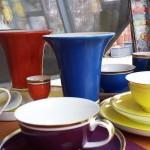 Schönes Porzellan für Präsentkörbe von Feine Kost