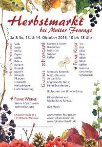 Herbstmarkt 2018 Plakat