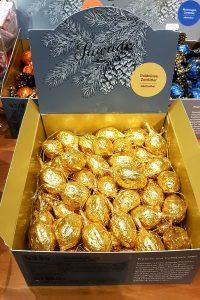 Sawade Schokolade Goldnuesse Zartbitter