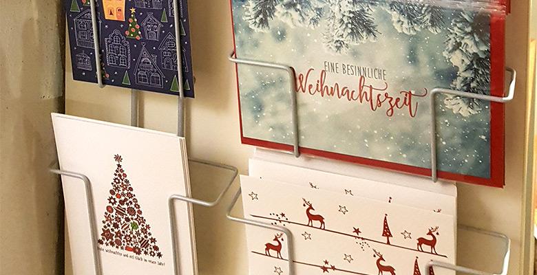 Slider Postkarten Weihnachten von Skowronski