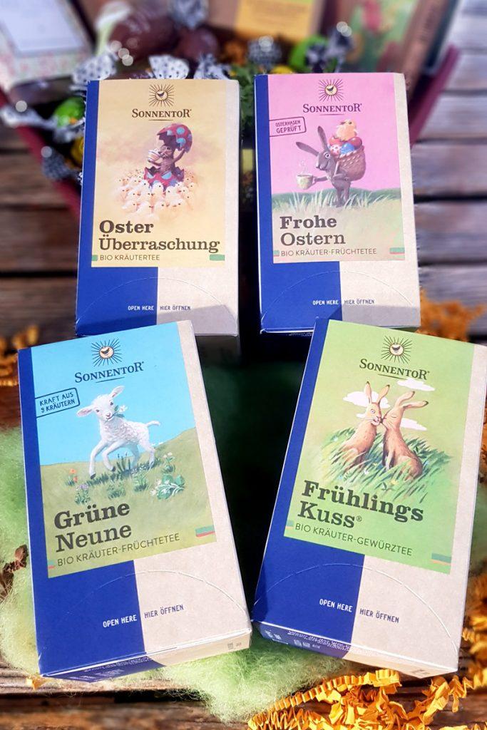 Sonnentor Oster-Tee verschiedene Sorten