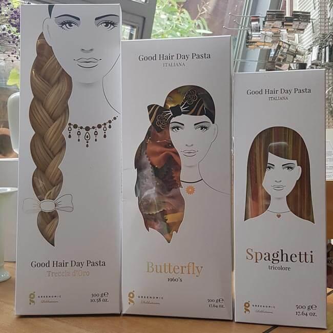 Frisuren aus Nudeln